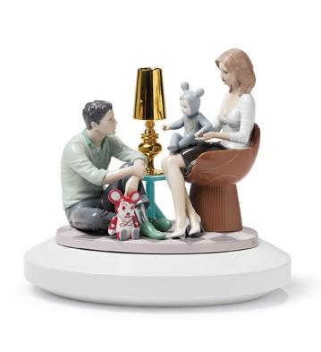 The Family Portrait Lladro Figurine