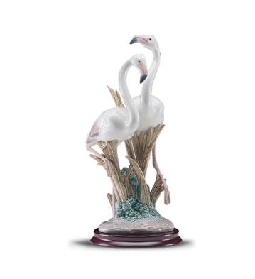The Flamingos Lladro Figurine