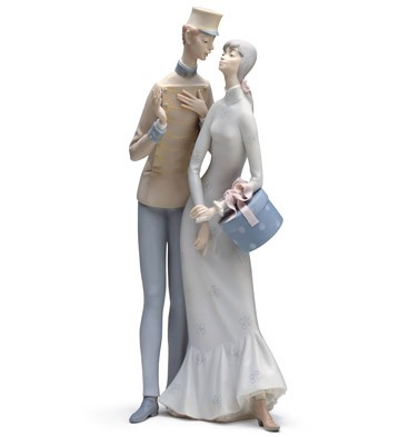 The Flirt Lladro Figurine
