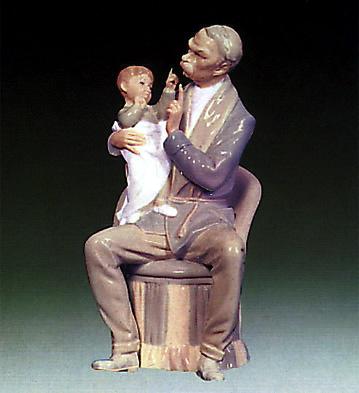 The Grandfather Lladro Figurine