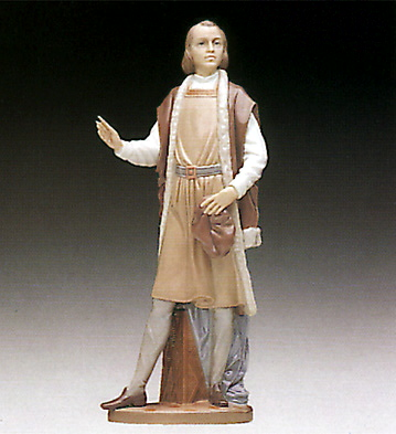 The Great Adventurer Lladro Figurine