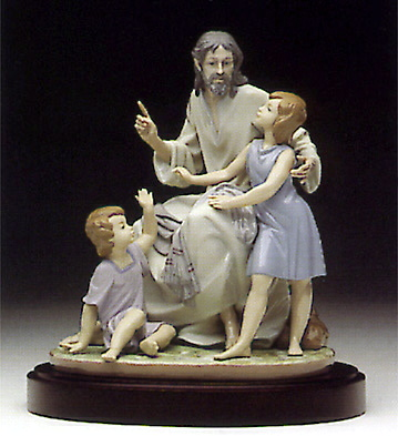 The Great Teacher (b) Lladro Figurine