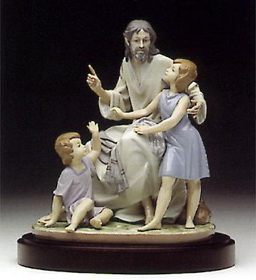 The Great Teacher (b) Lladro Figurine