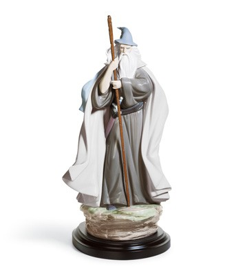 The Grey Pilgrim Lladro Figurine