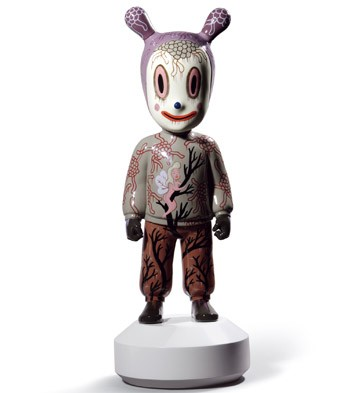The Guest By Gary Baseman - Big Lladro Figurine