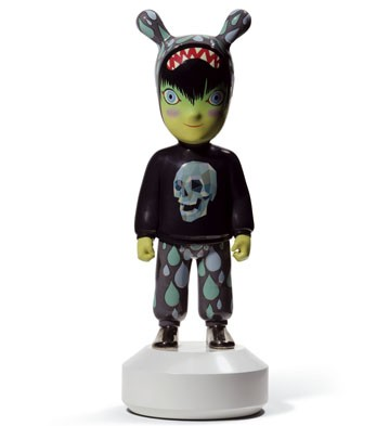 The Guest By Tim Biskup - Big Lladro Figurine