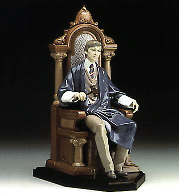 The Hand Of Justice Lladro Figurine