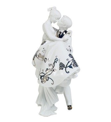 The Happiest Day (re-deco) Lladro Figurine