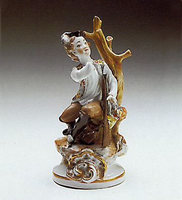 The Hunter Lladro Figurine