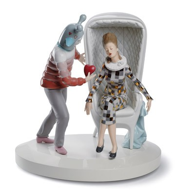 The Love Explosion Lladro Figurine