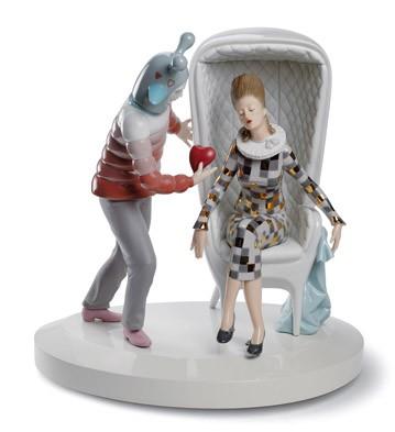 The Love Explosion Lladro Figurine