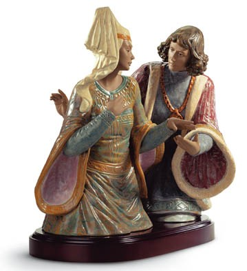The Lovers Of Verona Lladro Figurine