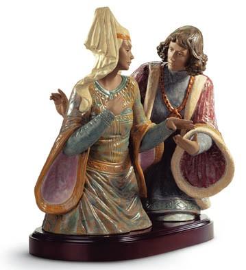 The Lovers Of Verona Lladro Figurine