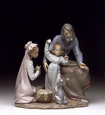 The Loving Family Lladro Figurine