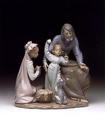 The Loving Family Lladro Figurine