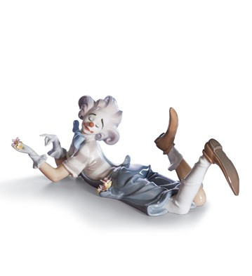 The Magic Of Comedy Lladro Figurine
