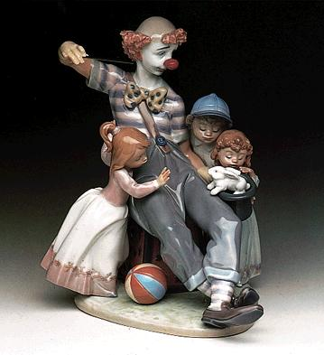 The Magic Of Laughter Lladro Figurine