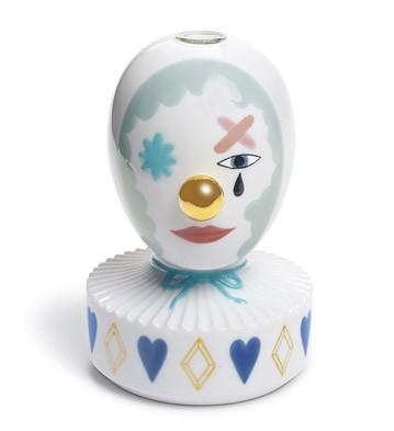 The Masquerade I (bud Vase) Lladro Figurine