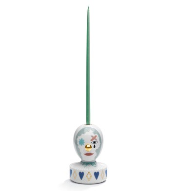 The Masquerade I (candle Holder) Lladro Figurine