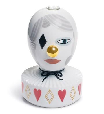 The Masquerade Ii (bud Vase) Lladro Figurine