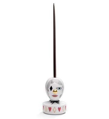 The Masquerade Ii (candle Holder) Lladro Figurine