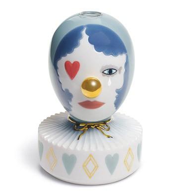 The Masquerade Iii (bud Vase) Lladro Figurine