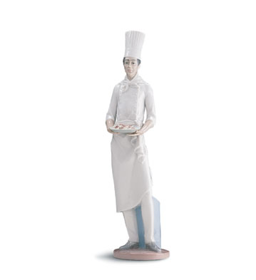 The Master Chef Lladro Figurine