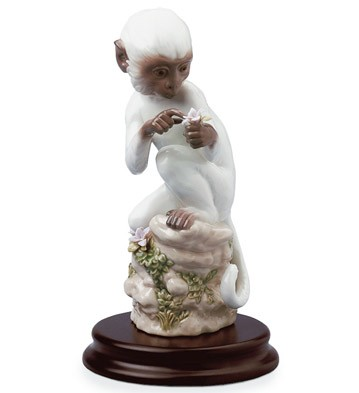 The Monkey Lladro Figurine