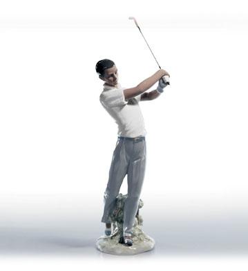 The Perfect Swing Lladro Figurine