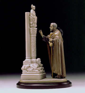 The Pilgrim At Santiago L Lladro Figurine