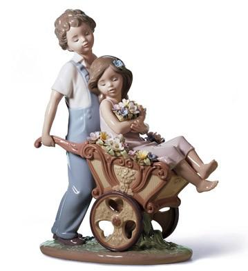 The Prettiest Of All Lladro Figurine