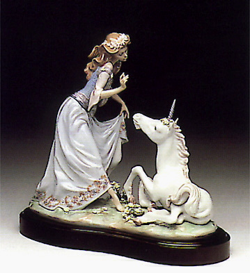 The Princess And The Unic Lladro Figurine