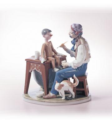 The Puppet Painter Lladro Figurine