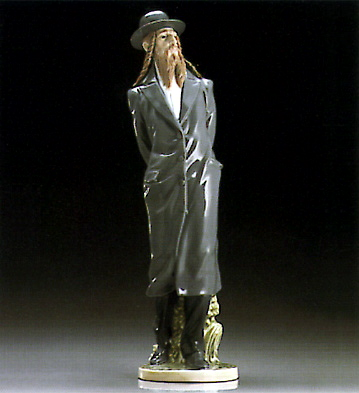The Rabbi Lladro Figurine