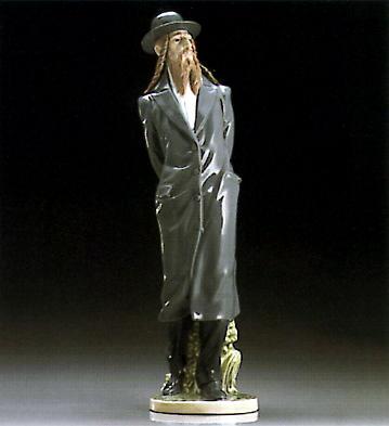 The Rabbi Lladro Figurine