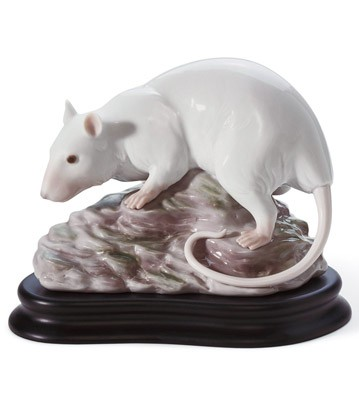 The Rat Lladro Figurine