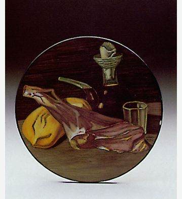The Round Plate Lladro Figurine