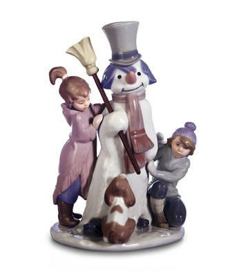 The Snowman Lladro Figurine