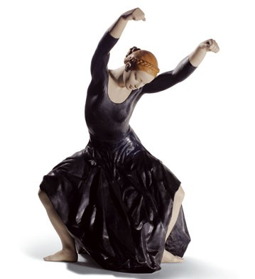 The Spirit Of Dance (black) Lladro Figurine