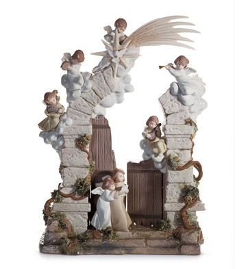 The Stable In Bethlehem Lladro Figurine