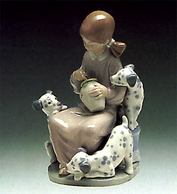 The Sweet-mouthed Lladro Figurine