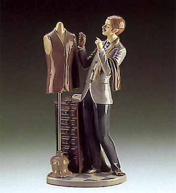 The Tailor Lladro Figurine
