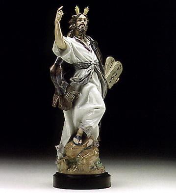 The Ten Commandments (b) Lladro Figurine