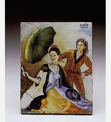 The Umbrella Lladro Figurine