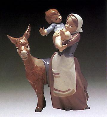 The Walk Lladro Figurine