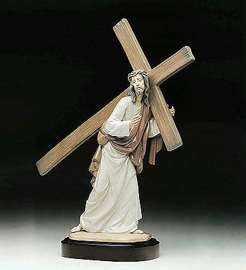 The Way Of The Cross (l.e Lladro Figurine
