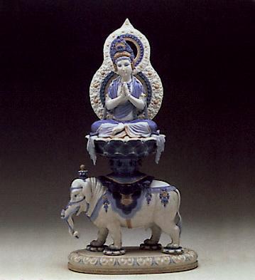 The Wisdom Of Buda Lladro Figurine