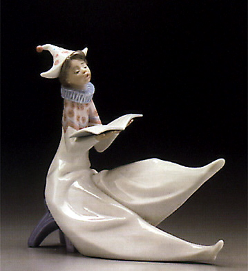 The Young Jester-singer Lladro Figurine