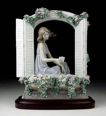 Thinking Of Love Lladro Figurine