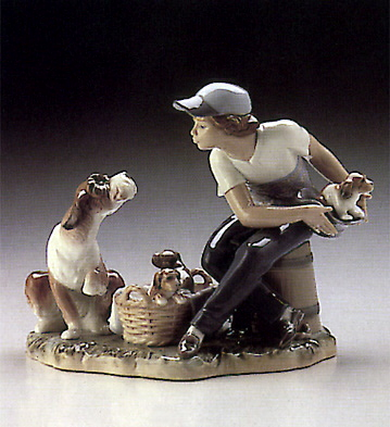 This One's Mine Lladro Figurine